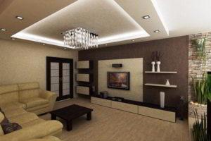 интерьер зала в квартире фото 28
