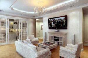 интерьер зала в квартире фото 38