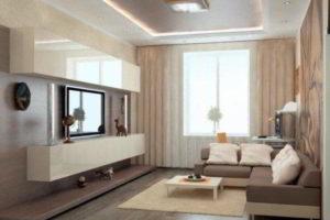 интерьер зала в квартире фото 39