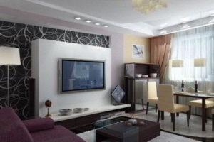 интерьер зала в квартире фото 46