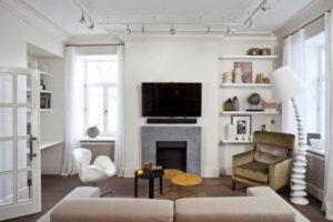 интерьер зала в квартире фото 48