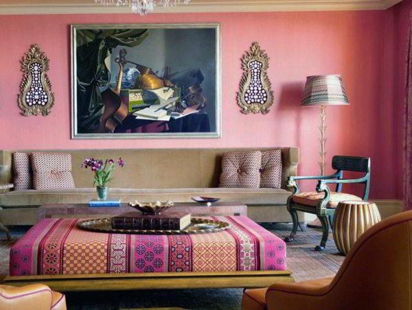 интерьер зала в квартире фото 7