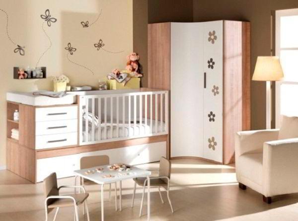 комната для новорожденного фото 12