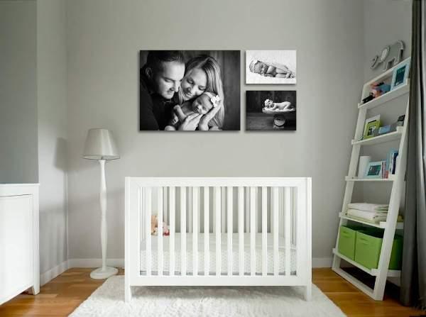 комната для новорожденного фото 13