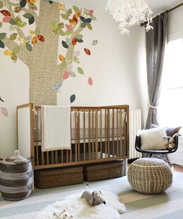 комната для новорожденного фото 14