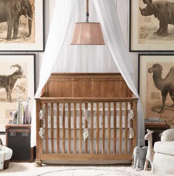 комната для новорожденного фото 2