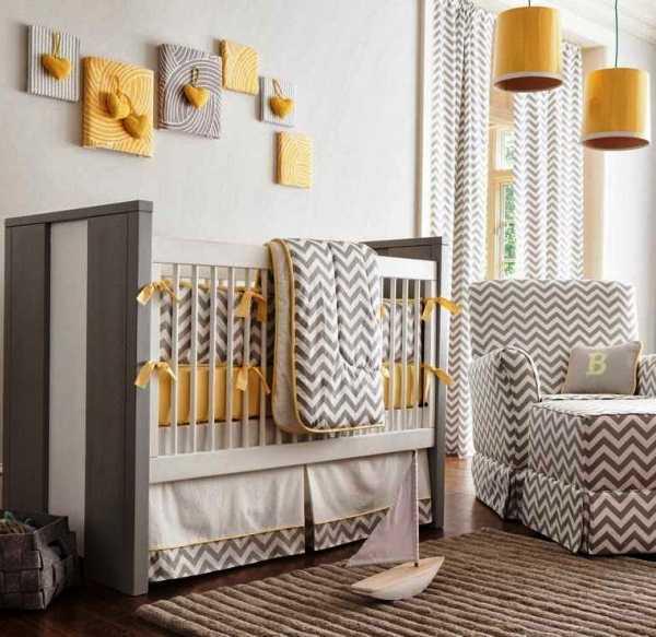 комната для новорожденного фото 5