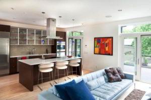 кухня и гостиная вместе фото 18