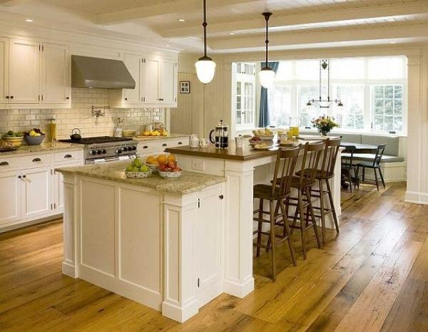 кухня с островом фото 12