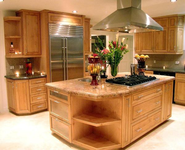 кухня с островом фото 7
