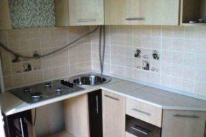 кухня в хрущевке дизайн фото 21