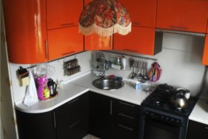 кухня в хрущевке дизайн фото 22