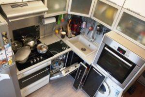 кухня в хрущевке дизайн фото 43