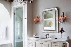 люстра в ванной фото 18