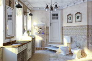 люстра в ванной фото 19
