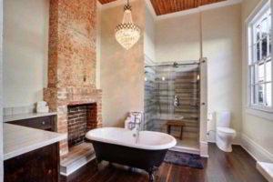 люстра в ванной фото 36