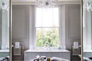 люстра в ванной фото 39