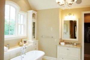 люстра в ванной фото 40
