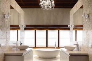 люстра в ванной фото 52