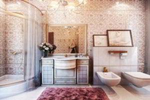 люстра в ванной фото 54