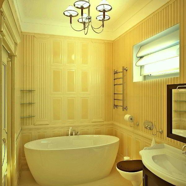 маленькая ванная фото 12