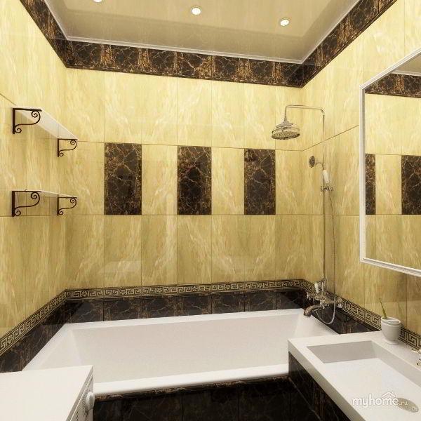 маленькая ванная фото 5
