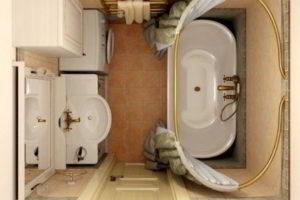 ванная комната 3 кв.м фото 32