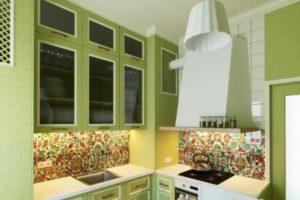 оформление стен кухни фото 10