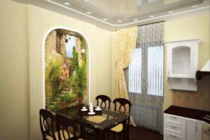 оформление стен кухни фото 18