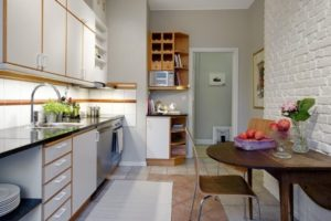 оформление стен кухни фото 19