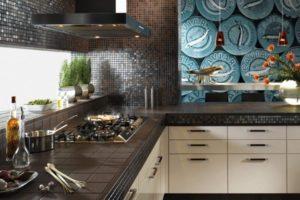 оформление стен кухни фото 22