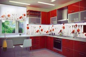 оформление стен кухни фото 23