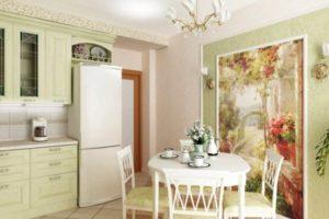 оформление стен кухни фото 42