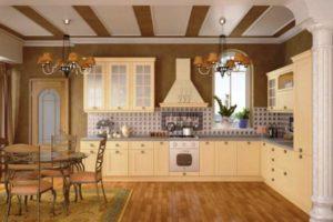оформление стен кухни фото 43