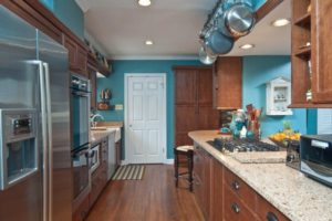 оформление стен кухни фото 5