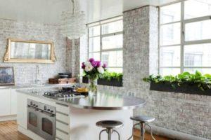 оформление стен кухни фото 7