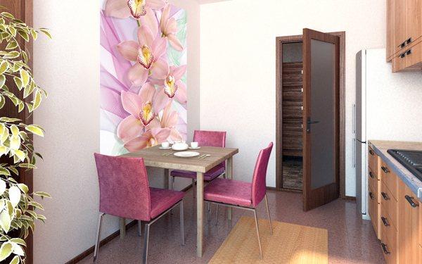 оформление стен на кухне фото 13