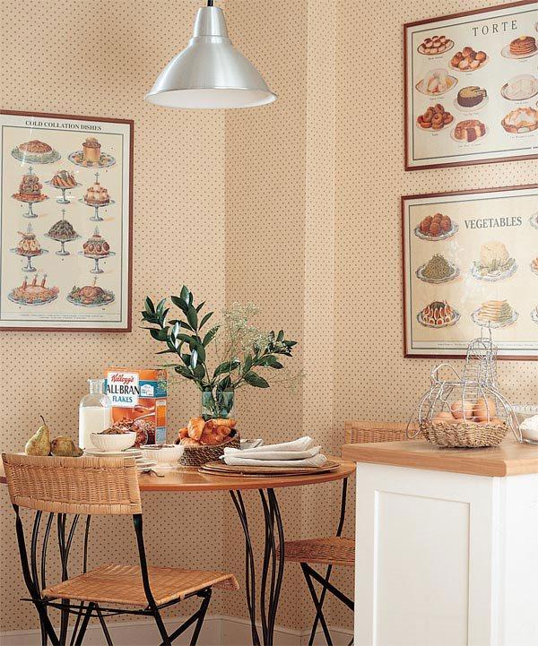 оформление стен на кухне фото 14