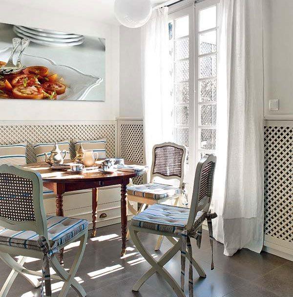 оформление стен на кухне фото 17