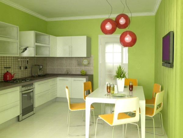 оформление стен на кухне фото 22
