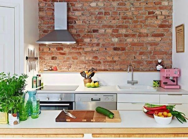 оформление стен на кухне фото 5