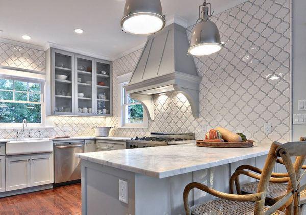 оформление стен на кухне фото 6