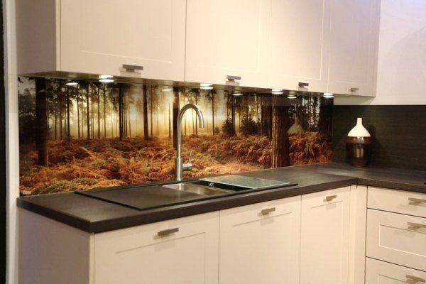 оформление стен на кухне фото 9