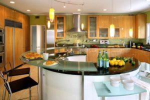 остров на кухне фото 19