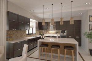остров на кухне фото 37