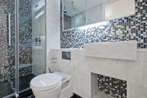 плитка мозаика для ванной комнаты дизайн фото 10