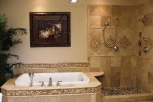 плитка мозаика для ванной комнаты дизайн фото 12