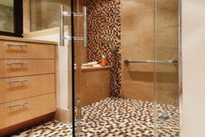 плитка мозаика для ванной комнаты дизайн фото 14