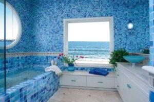 плитка мозаика для ванной комнаты дизайн фото 15