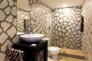 плитка мозаика для ванной комнаты дизайн фото 2